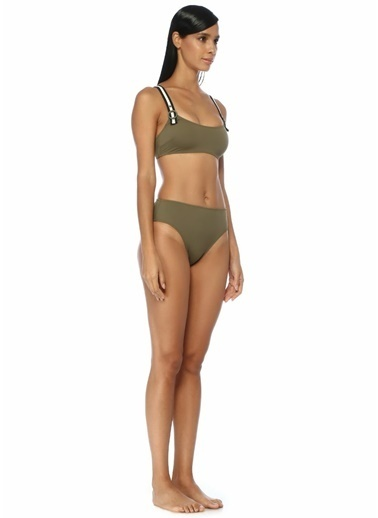 Solid & Striped Bikini Alt Haki